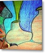 Fake Pipe Metal Print by Fania Simon