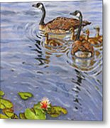 Family Outing Metal Print by Jeff Brimley