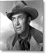 Far Country, The, James Stewart, 1955 Metal Print by Everett