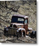 Farm Fresh Ford Metal Print by Steve McKinzie