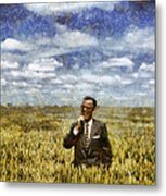 Farm Life - A Good Crop Metal Print by Nikki Marie Smith