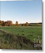 Farmer's Field Metal Print by Michael Meyer