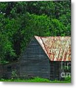Feed Stand Metal Print by Scott Hervieux