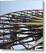Ferris Wheel - 5d17620 Metal Print by Wingsdomain Art and Photography