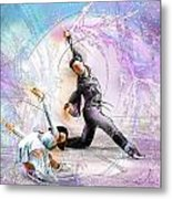 Figure Skating 02 Metal Print by Miki De Goodaboom