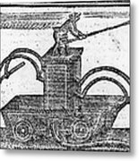 Fire Engine, 1769 Metal Print by Granger