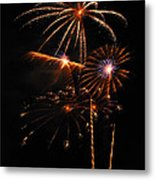 Fireworks 1580 Metal Print by Michael Peychich