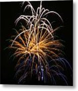 Fireworks 6 Metal Print by Paul Marto