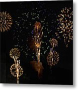 Fireworks Metal Print by Bill Cannon