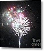 Fireworks Metal Print by Dyana Rzentkowski