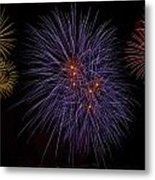 Fireworks Metal Print by Joana Kruse