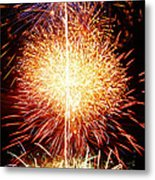 Fireworks_1591 Metal Print by Michael Peychich