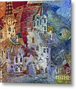 Fish -  Moon  Metal Print by Svetlana and Sabir Gadghievs