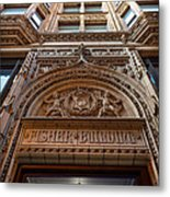 Fisher Building Chicago Metal Print by Steve Gadomski
