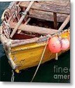 Fishing Boat Metal Print by Carlos Caetano