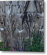 Flora Among The Ruins Metal Print by Joyce Hutchinson