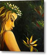 Flowers Of Paradise Metal Print by Gina De Gorna
