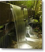 Flowing Water Metal Print by Andrew Soundarajan