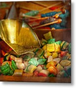 Food - Candy - One Scoop Of Candy Please  Metal Print by Mike Savad