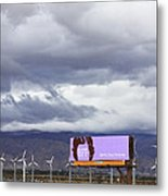 Forever Palm Springs Metal Print by William Dey