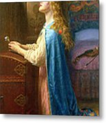 'forget Me Not' Metal Print by Arthur Hughes