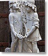 Forgotten Statue Metal Print by Garry Gay