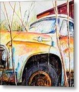 Forgotten Truck Metal Print by Scott Nelson