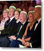Former Presidents Bill Clinton Metal Print by Everett
