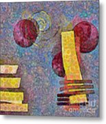 Formes - 08a Metal Print by Variance Collections