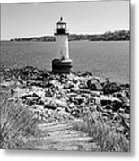 Fort Pickering Light Metal Print by Catherine Reusch  Daley