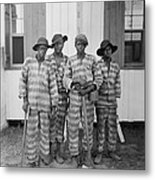 Four African American Youths Metal Print by Everett