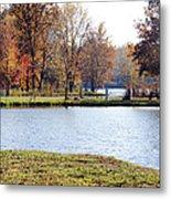 Fowler Lake 3 Metal Print by Franklin Conour
