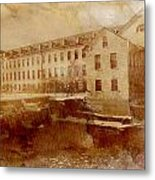 Fox River Mills Metal Print by Joel Witmeyer