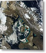 Foxe Basin, Northern Canada Metal Print by Stocktrek Images