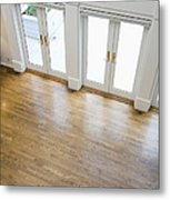 Foyer And French Doors Metal Print by Andersen Ross