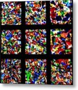 Fractured Squares Metal Print by Meandering Photography