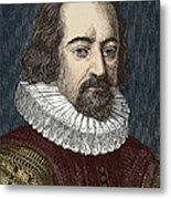 Francis Bacon, English Philosopher Metal Print by Sheila Terry