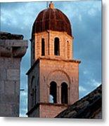 Franciscan Monastery Tower At Sunset Metal Print by Artur Bogacki