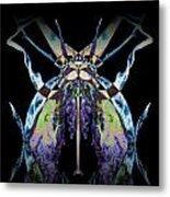 Freaky Bug Plant Metal Print by David Kleinsasser