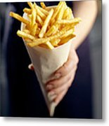 French Fries Metal Print by David Munns