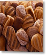 Fresh Bread Loaves Metal Print by Terry Mccormick