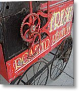 Fresh Roasted Peanuts Metal Print by Pamela Patch