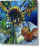 From The Farmer's Market Metal Print by Carol Mangano