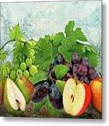 Fruit Garden Metal Print by Manfred Lutzius
