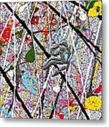 Fyr Art Work 7 Metal Print by Cyryn Fyrcyd