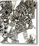 Galactic Warriors Metal Print by Zydrisch Silva