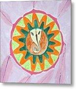 Ganesh Mandala Metal Print by Sonali Gangane