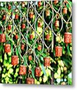 Garden Noah Bells Metal Print by Cheryl Young