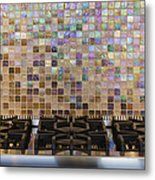 Gas Hob And Tiled Back Splash Metal Print by Jeremy Woodhouse