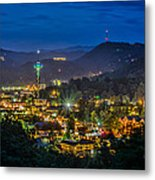 Gatlinburg And The Smokey Mountains Metal Print by Brian Young